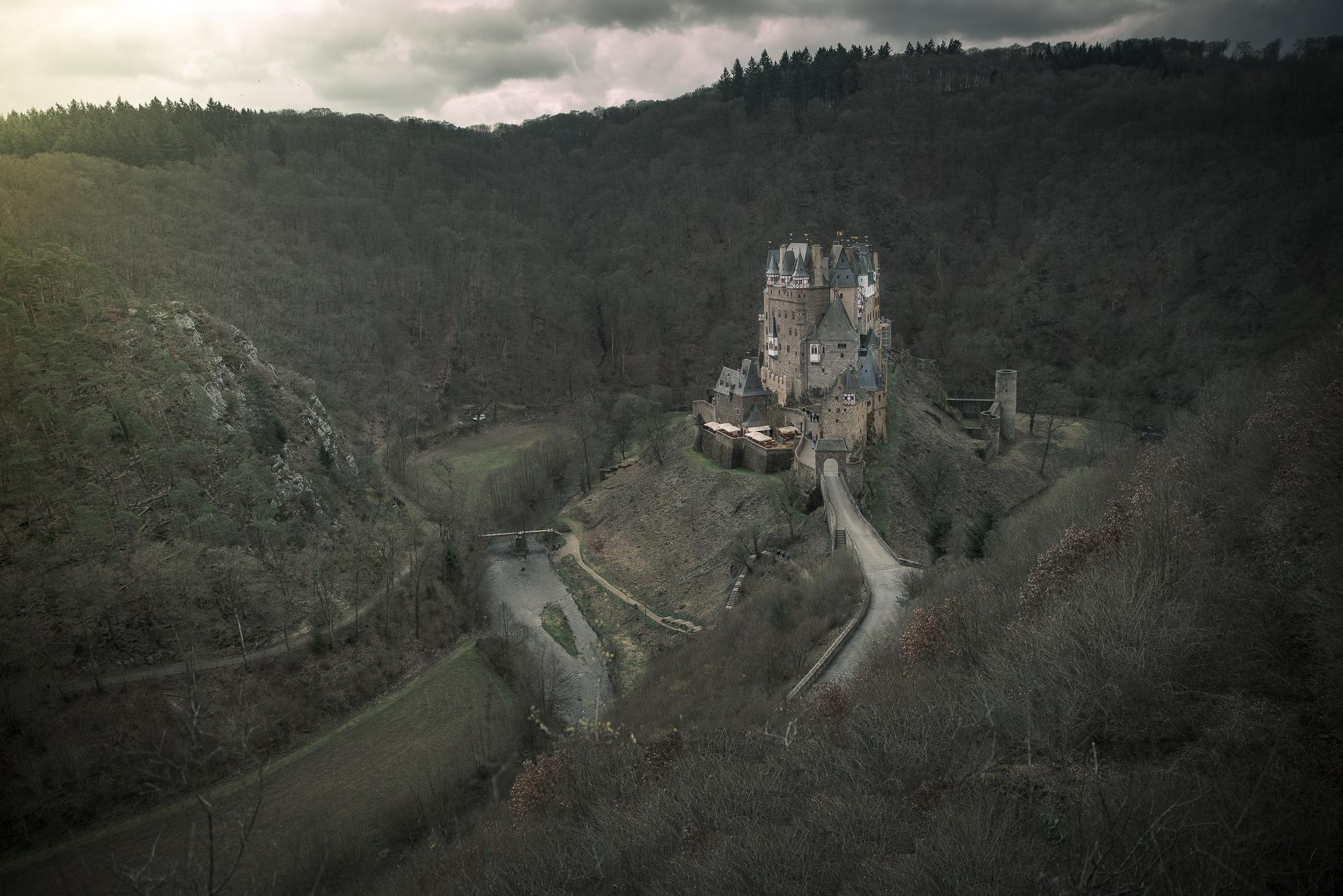 Hier ein Blickwinkel aus dem die Burg schon viele Male abgelichtet wurde