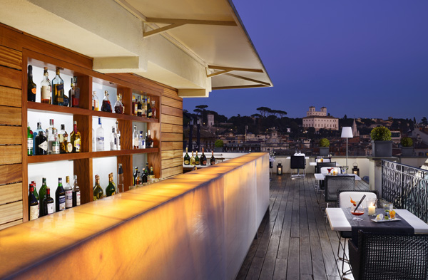 The First Luxury Art Hotel Roma A Perfect Hotel View In