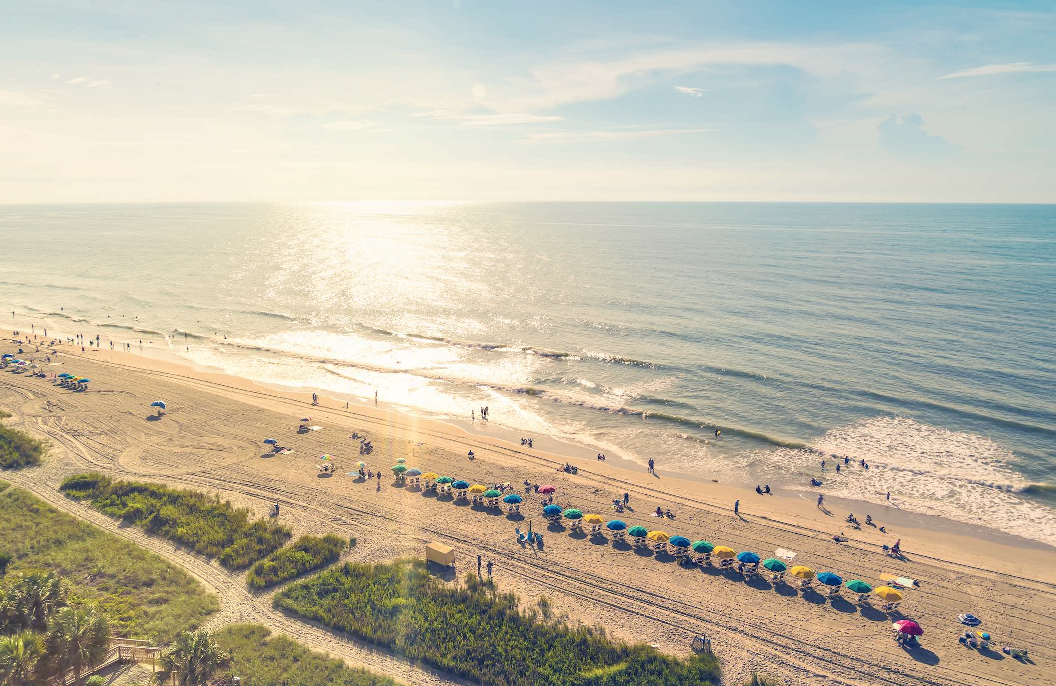 Myrtle Beach Oceanfront Hotels With