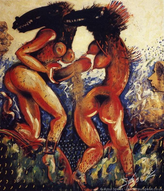 Adam, Eva, Dios y el Diablo (Raul Speek).jpg