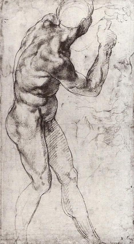 3 study for Battle of Cascina (cropped).JPG