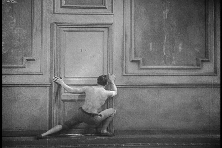 Poet in corridor.JPG
