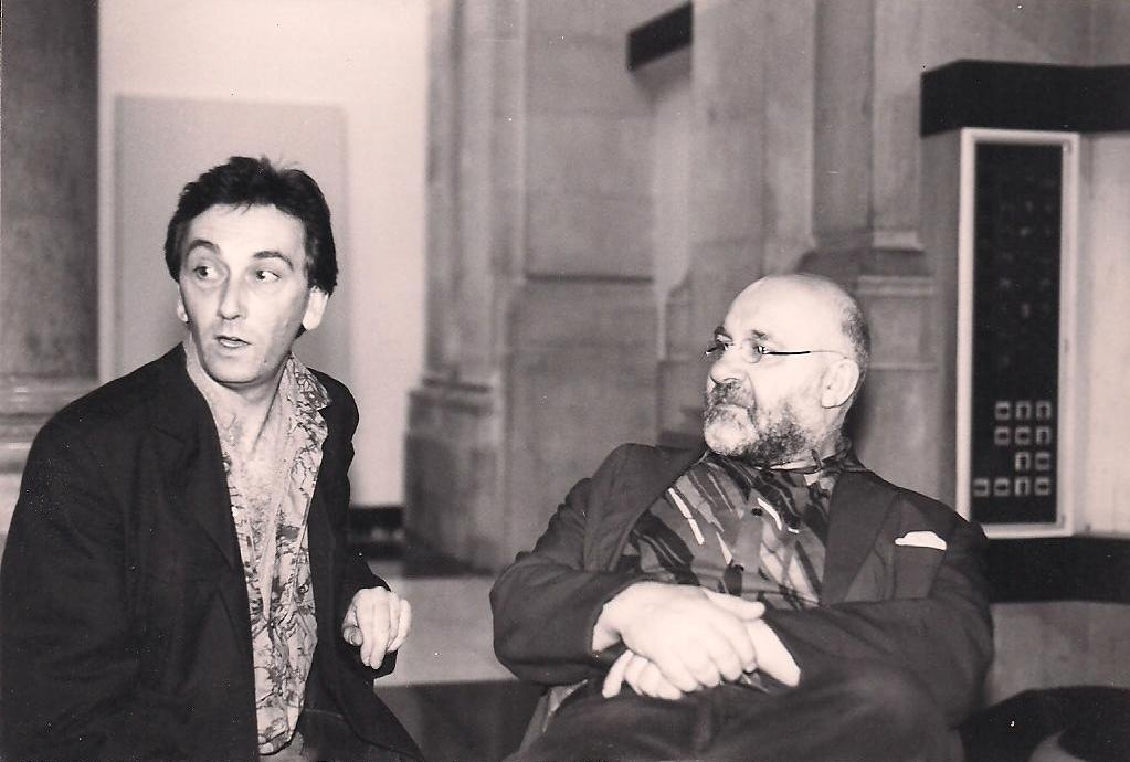 Charlie & Lol Coxhill - Sex and Death at Covent Garden, 1986 (photo: Carol Jones)
