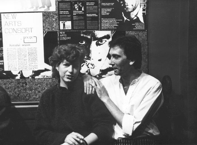 1981 Charlie with Anne E Hayes.JPG