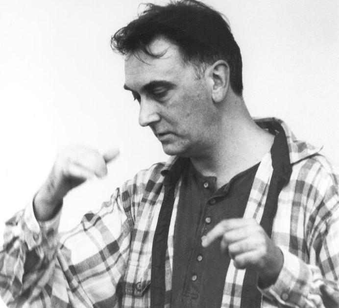 Charlie in rehearsals, 1994 (photo: Nicola Schauerman)