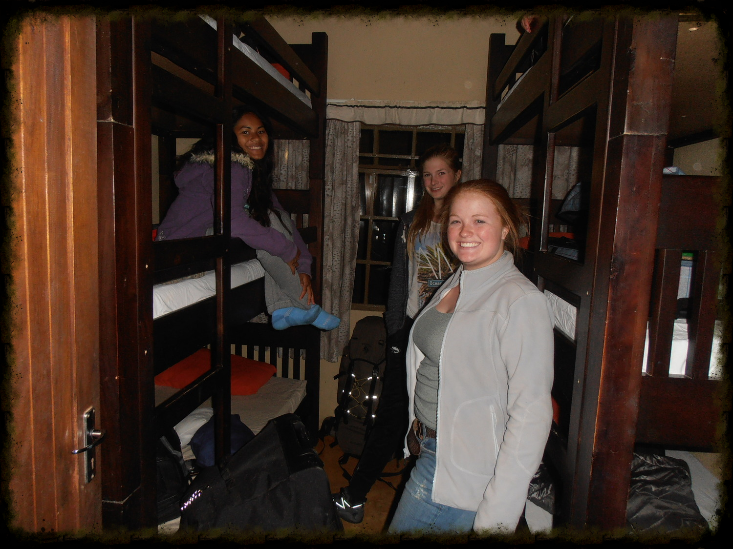 The 6-bunk room for the girls.  We only brought six girls so they all roomed together.
