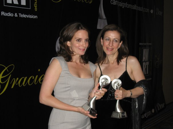 With Tina Fey - AWRT Gracie Awards Ceremony