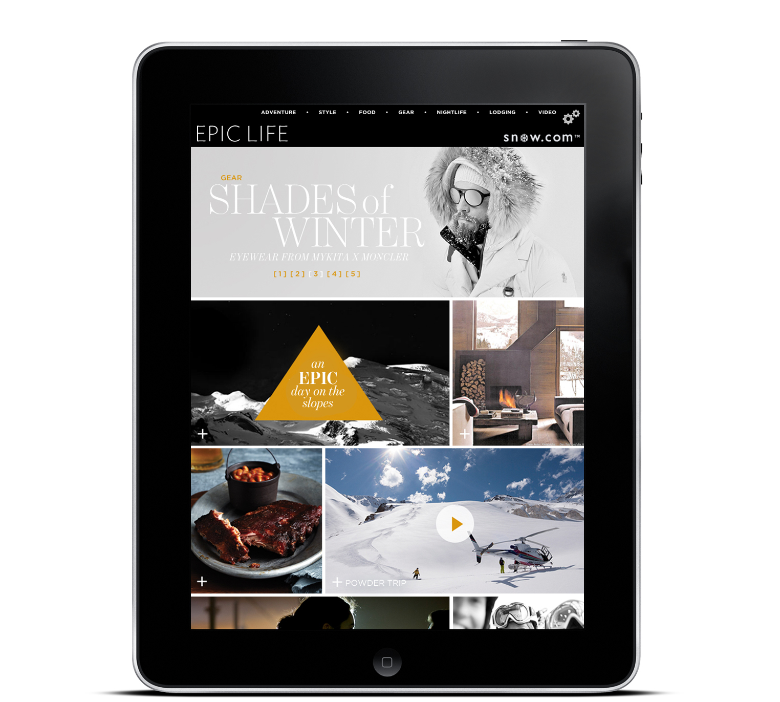EPIC LIFE Digital Magazine — iPad version