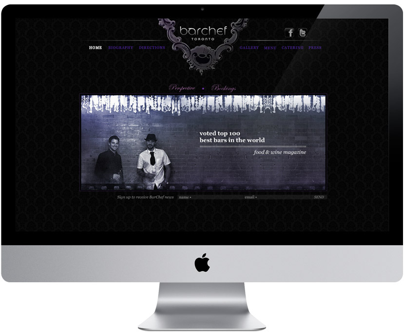 BarChef website