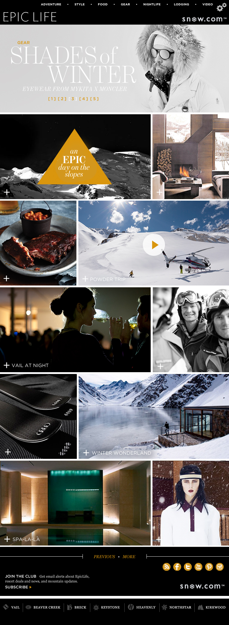 EPIC LIFE Digital Magazine — iPad version — Full view