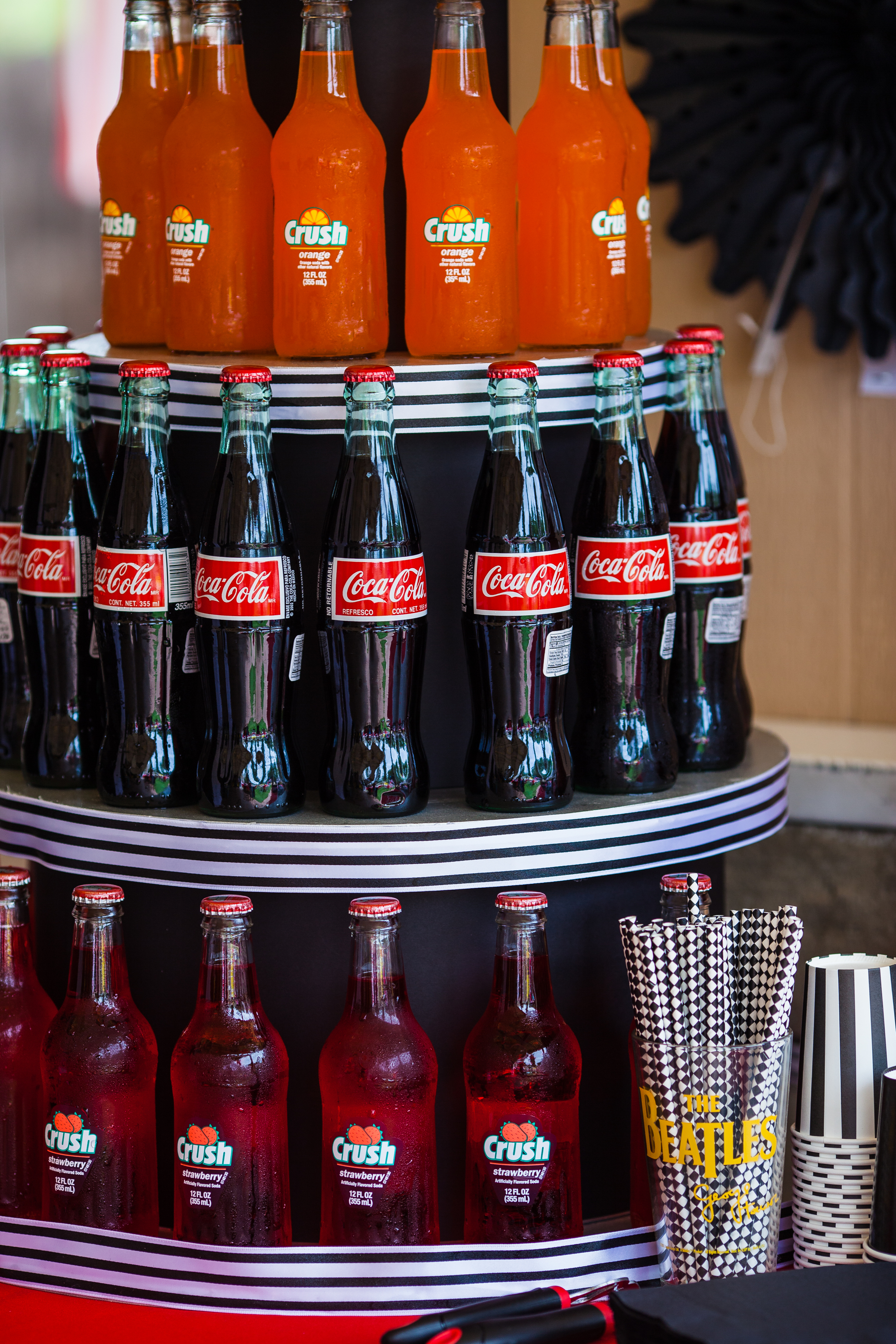 Beatles Bash Bottled Coke tower by Down Emery Lane.