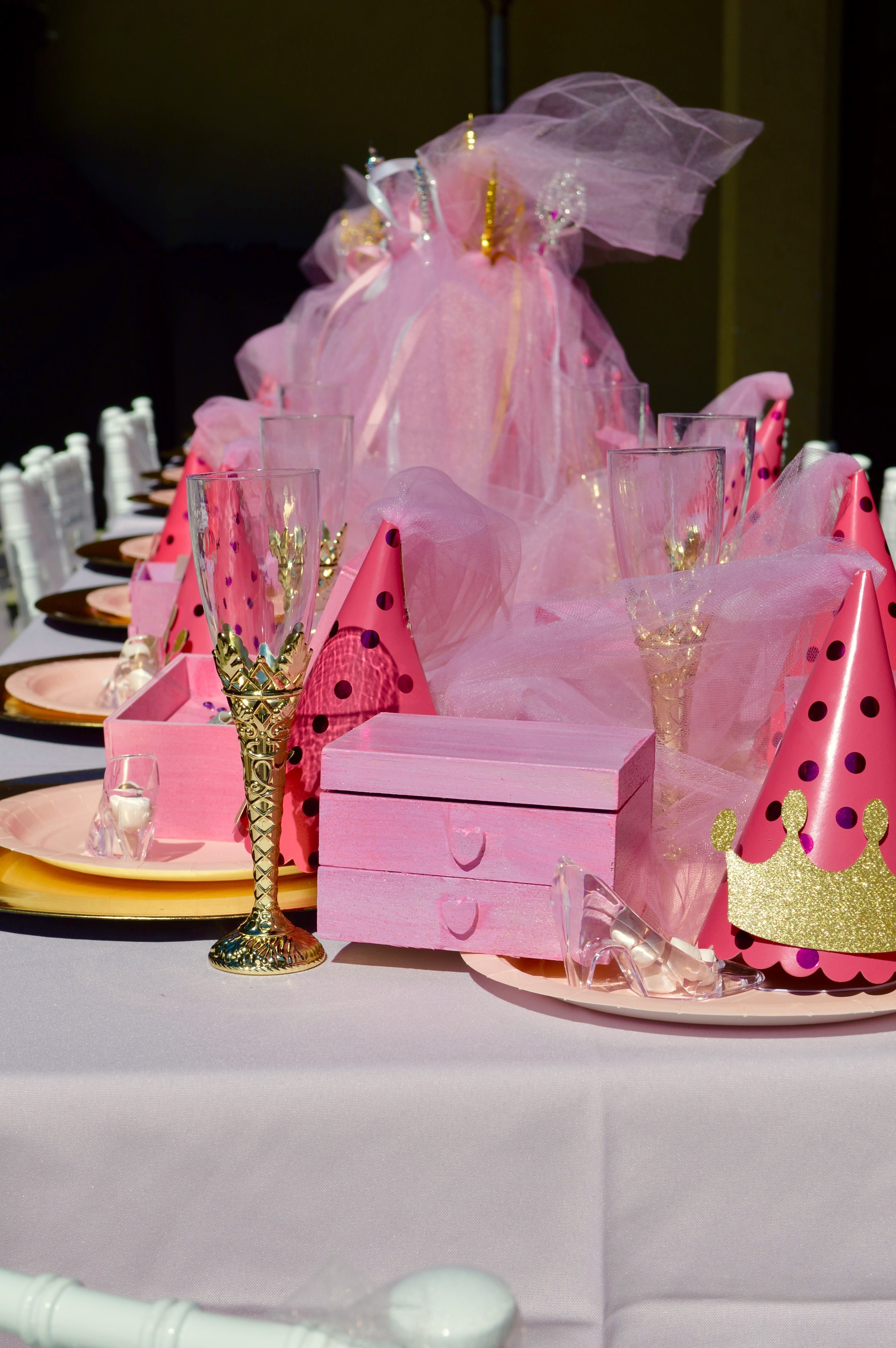Princess Party kid table by Down Emery Lane
