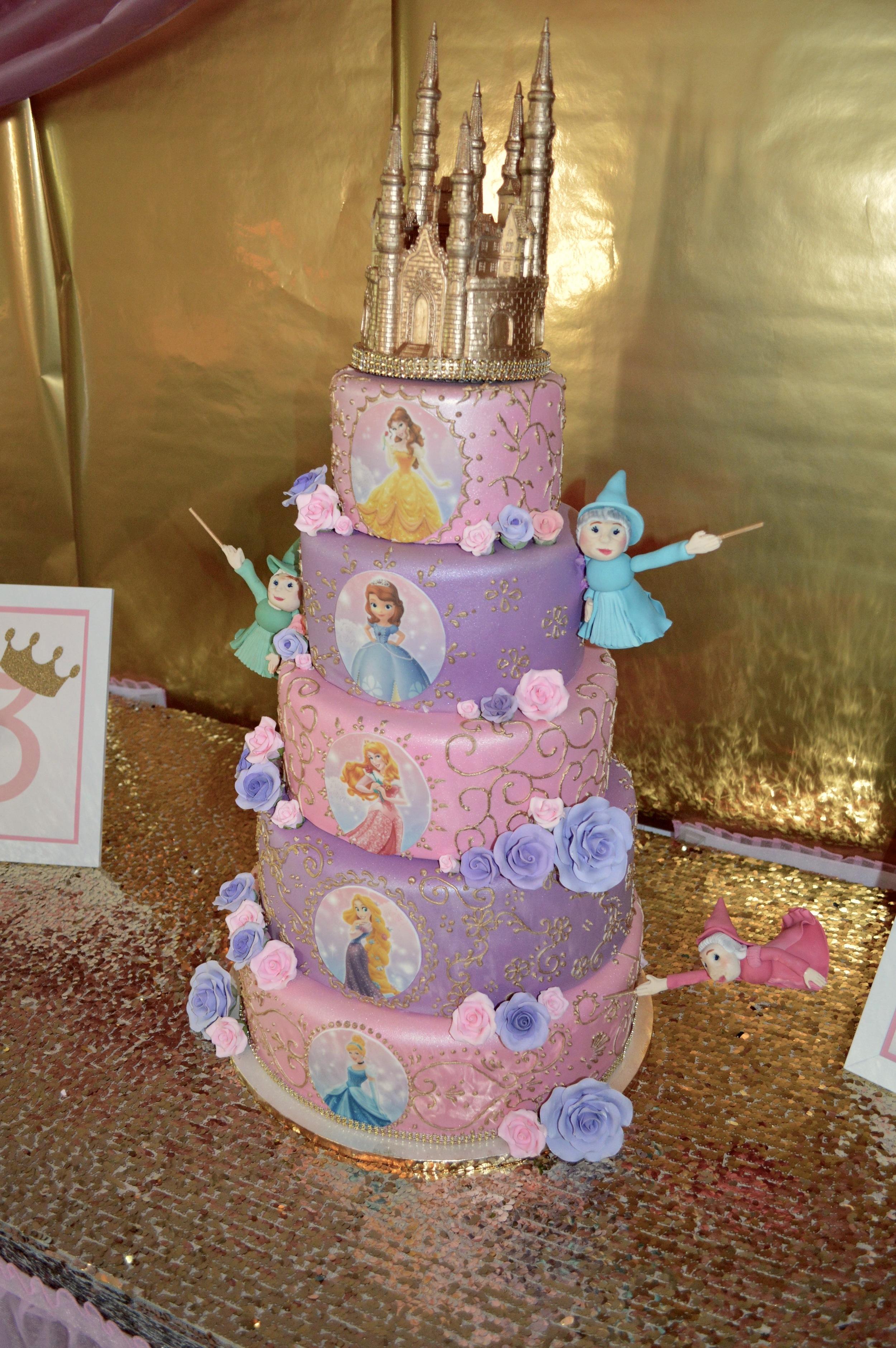 Princess Cake by  Sweet Art Bake Shop .