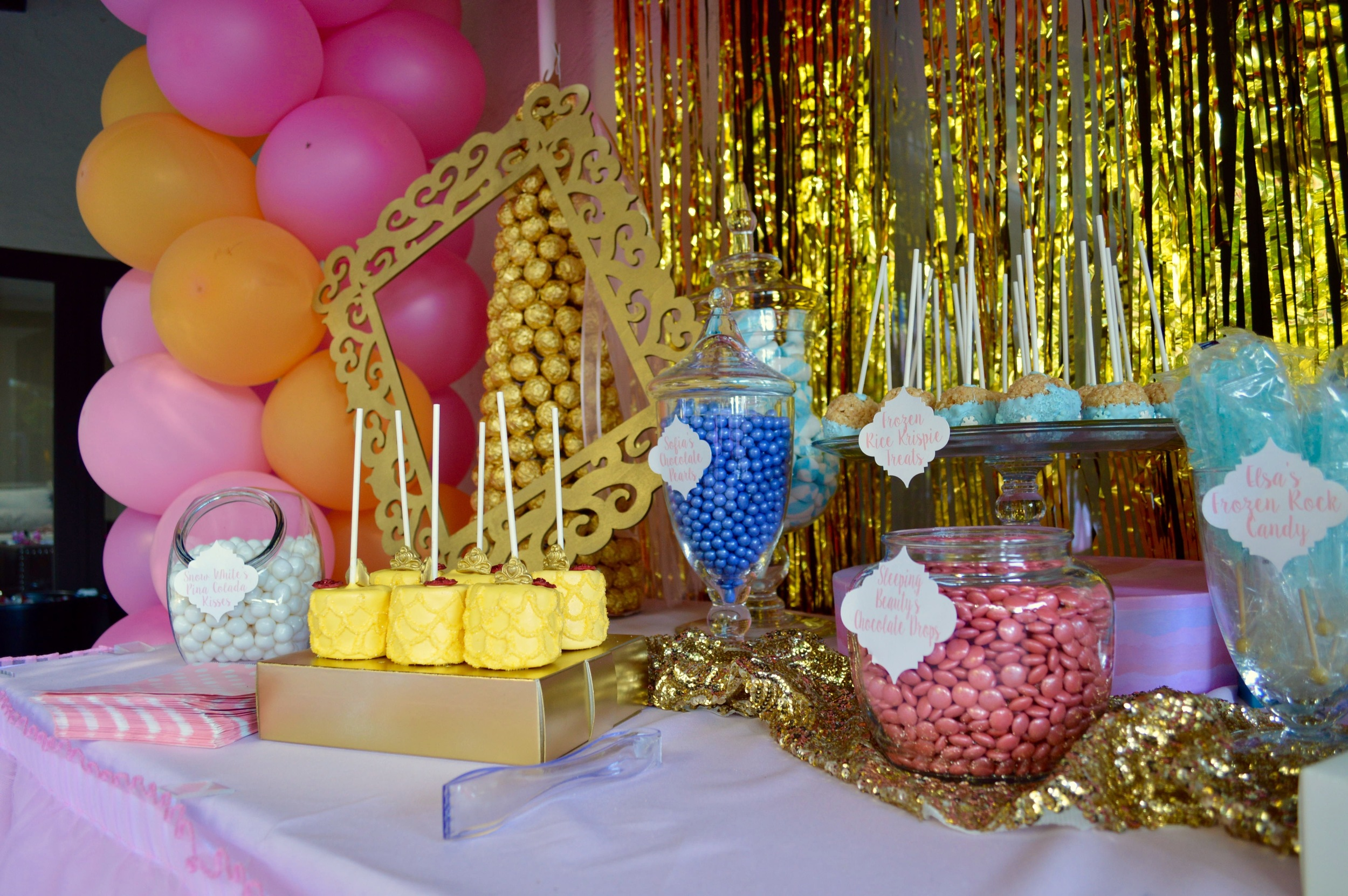Candy Bar coordinated by Down Emery Lane