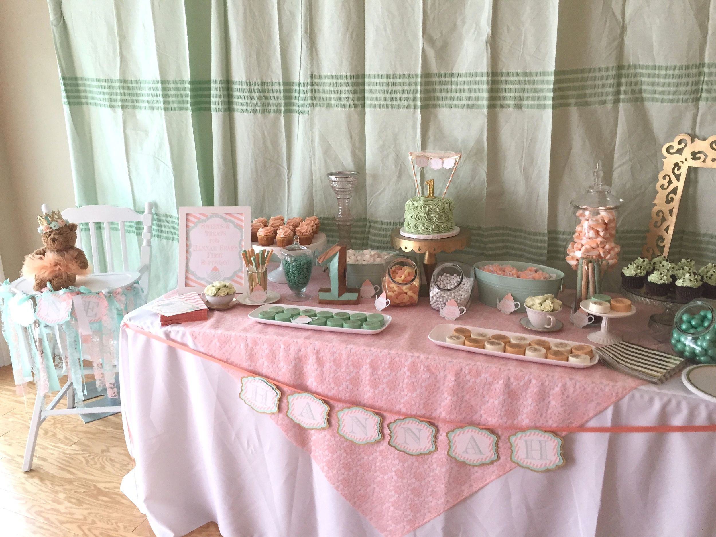 Teddy Bear Tea Party by www.downemerylane.com