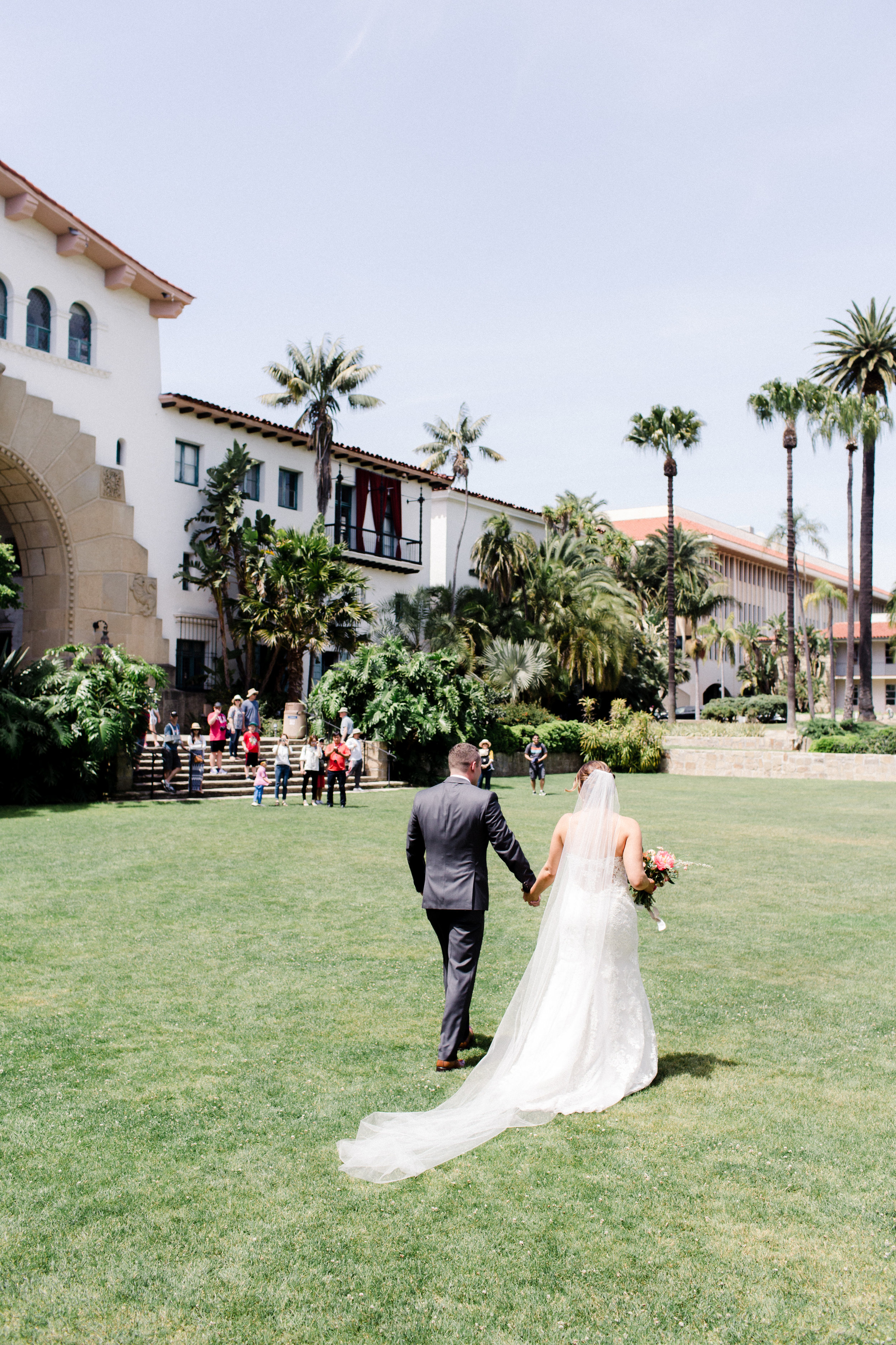 Santa Barbara Courthouse Wedding // Coordinating by Down Emery Lane