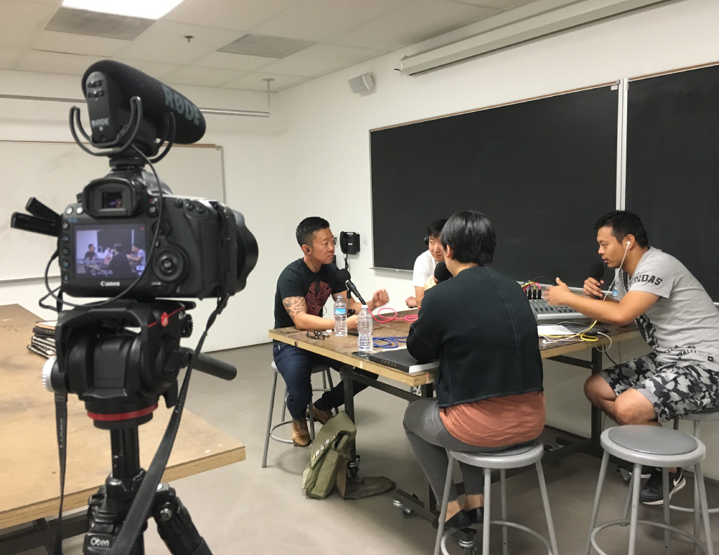 Interviewing Peter Han at ArtCenter College of Design