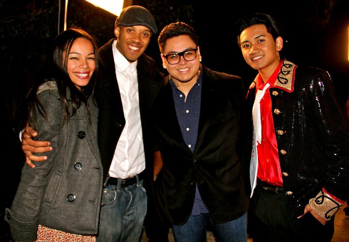 American Idol Finalist - Andrew Garcia, and A&R - Konnects