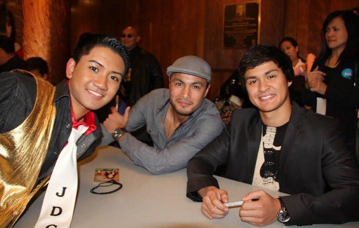 Filipino Actors - Derek Ramsey & Matthew