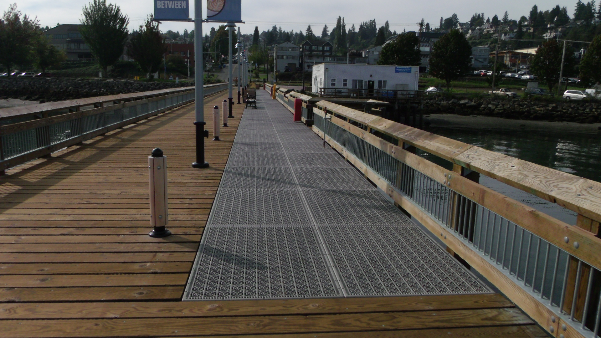 City of Tacoma Parks Department Old Town Dock Refurbishment in Tacoma, WA. Using Xccent Steel Dek Eco Series Decking. Click on the above picture to view more photos.
