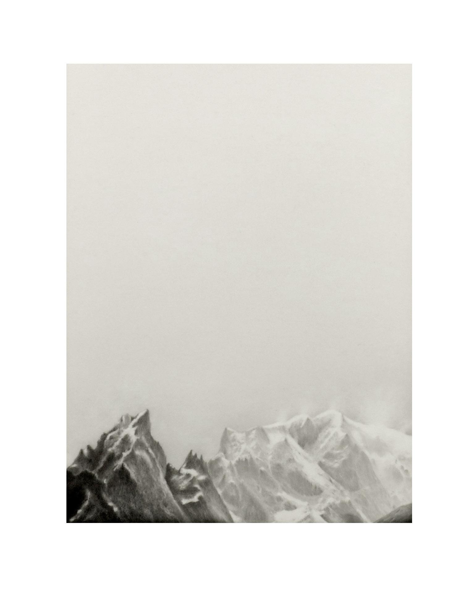 Mont Blanc # 3 (Detail)
