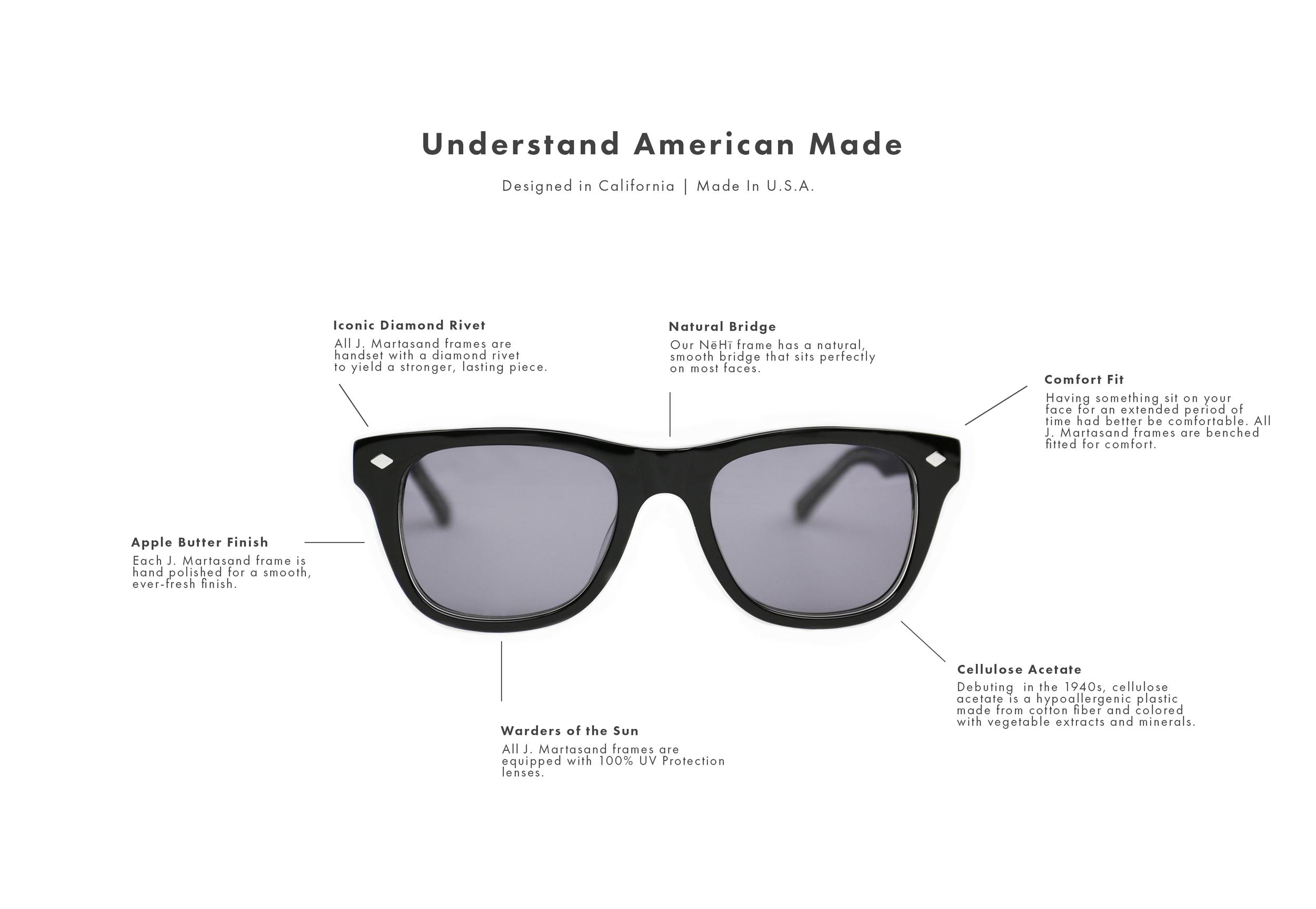 Made In USA Sunglasses