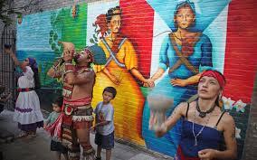 """Soldaderas Mural"" by Yasmin Hernandez Photo by Javier Soriano"