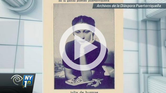 """Vanessa Pérez Rosario habla sobre su libro """"Becoming Julia de Burgos"""" en Pura Política, NY1 Noticias"""