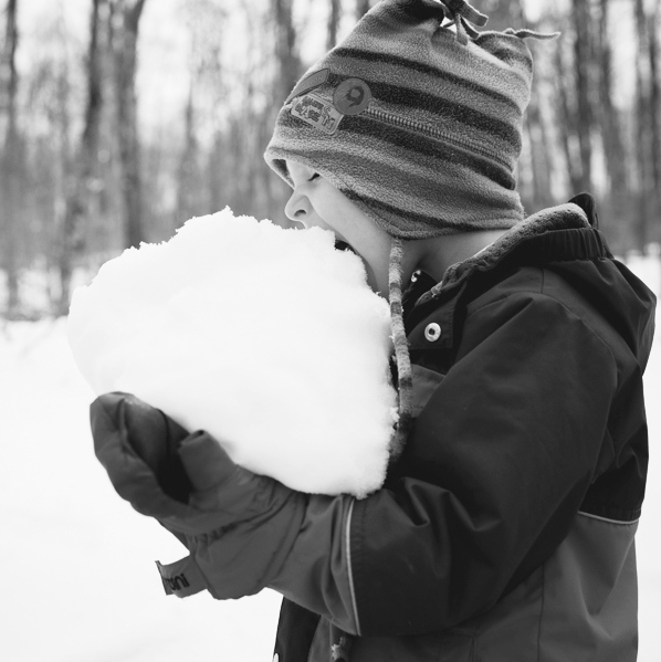 Yannick Cosman of Cosman & Webb Townships Organic, Eating Snow