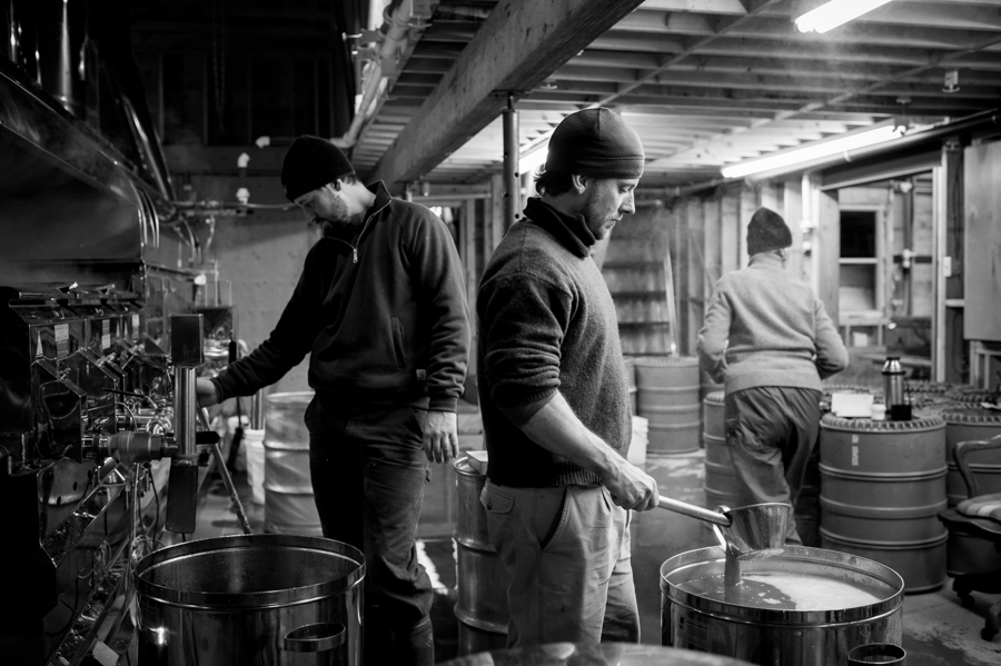Cosman brothers making organic maple syrup