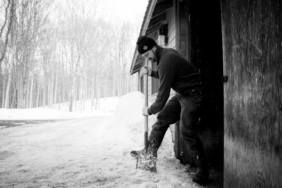 Deicing the sugar camp