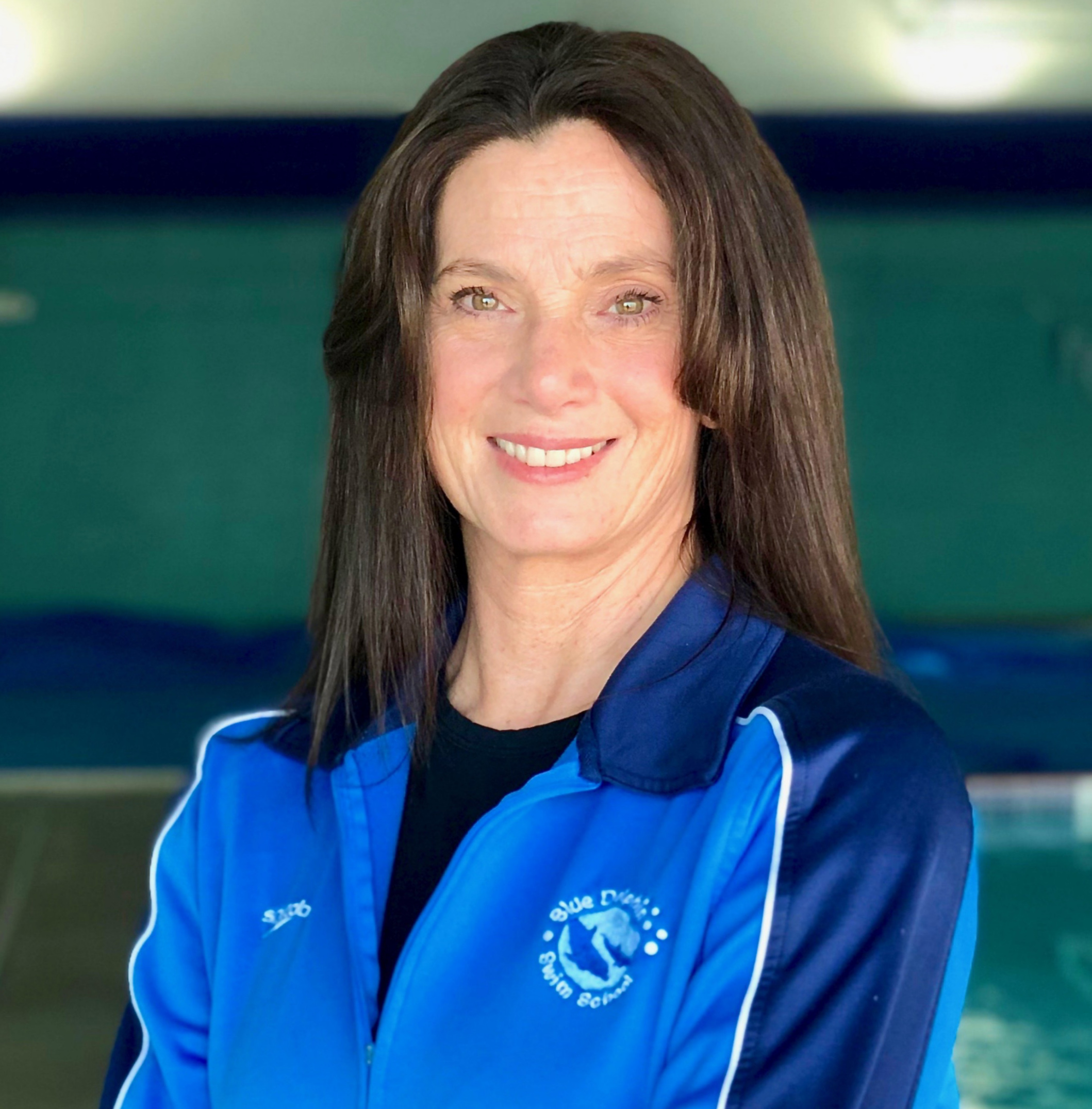 MISS STACY - Miss Stacy is the owner of Blue Dolphin Swim School. She Grew up in Eureka, California and swam competitively for 5 years at the USA Swimming Level as well as trained with Olympic coach Sherm Chavoor. Stacy Has has been teaching swimming since she attended college at San Diego State University. In addition, Ms. Stacy has coached high school teams, SDSU Triathlon Club, and Swim Masters.