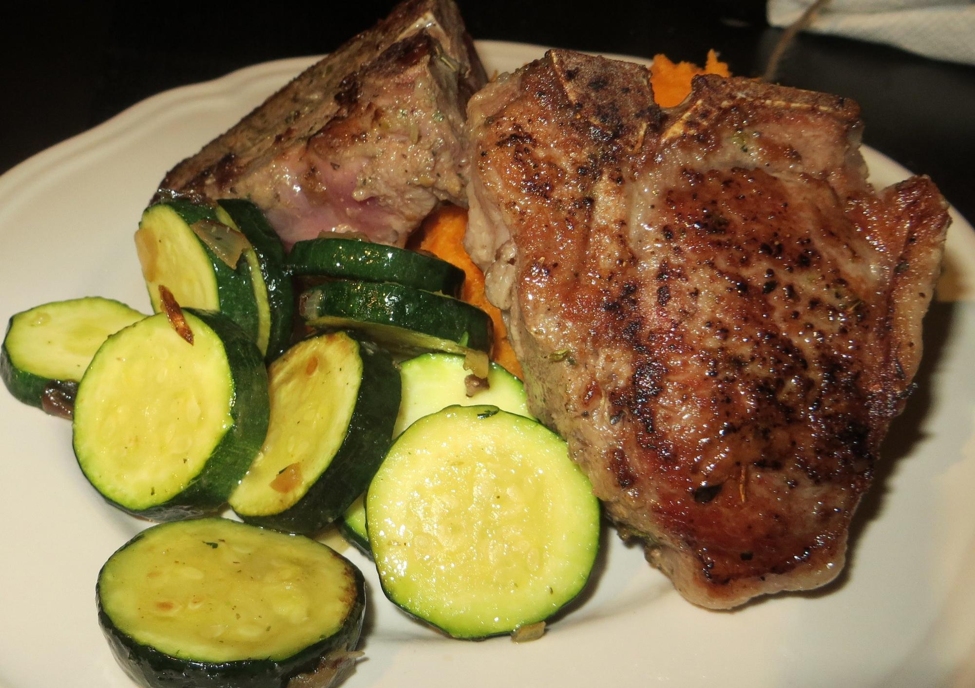 Lamb chops, a meaty confession