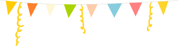 Parties by Lt handmade party banners, perfect for any occasion!
