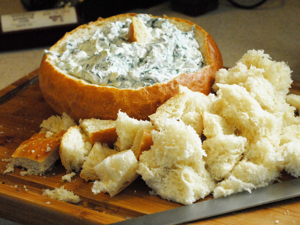 Let's begin, shall we? - There are so many ways to easily prepare it at home that there's no reason to ever serve store-bought spinach dip. I have yet to find one from a grocery store that I actually like—and I'm not that picky. Plus, my basic spinach dip is made with only five ingredients and five steps! How can you argue with that?
