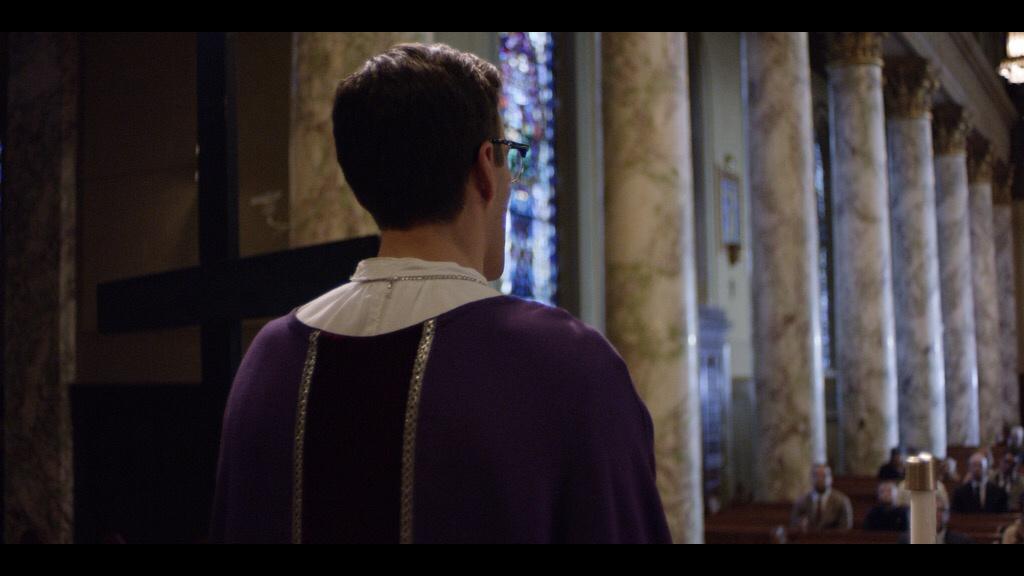 Jonathan stewart as bishop thomas gumbleton