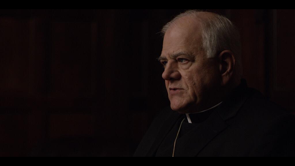 marty bufalini as archbishop john francis dearden