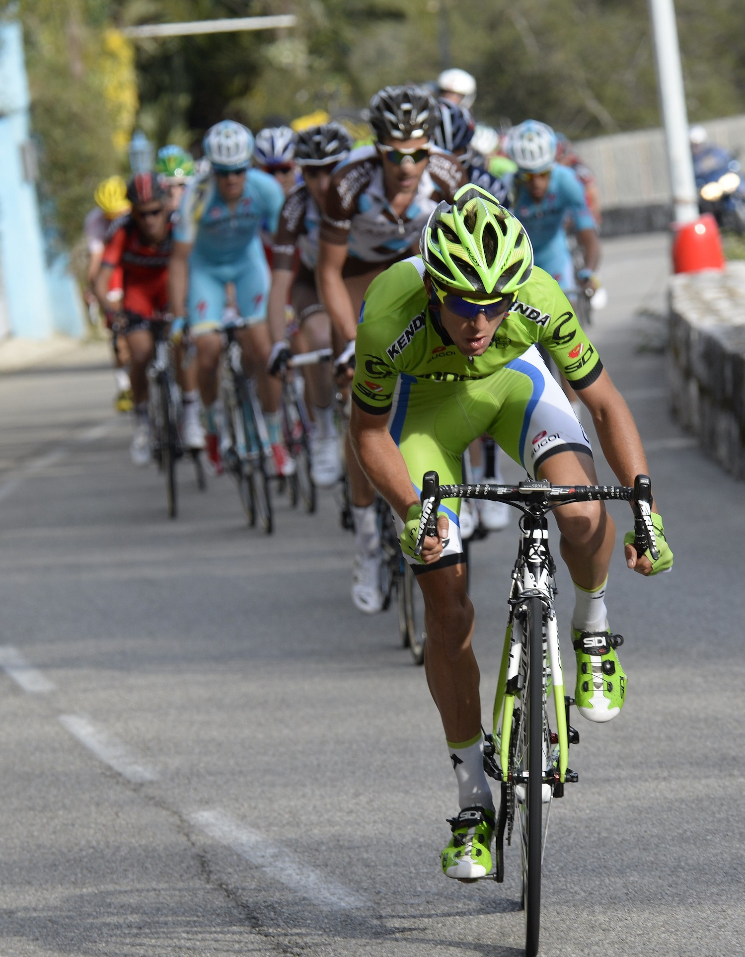 On the attack during Stage 8...