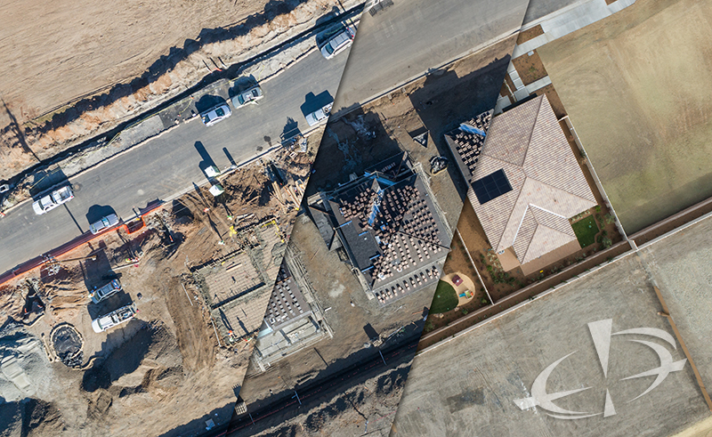 Certified Drone Media - Construction Site Progress