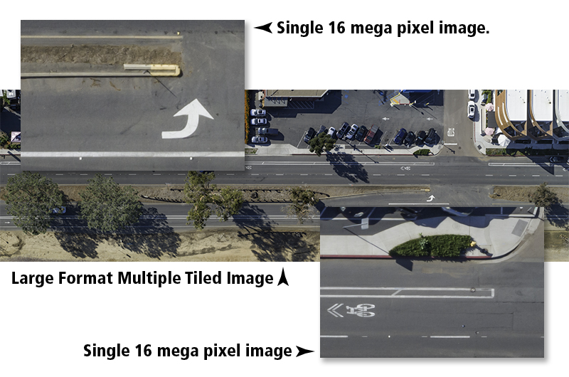Certified Drone Media - Tiled Road Detail