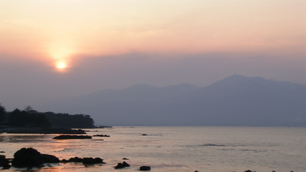 Photo 25 : Sunset in Sado Island?