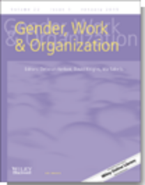 Popular Culture and Workplace Gendering among Varieties of Capitalism  (2014,  Gender, Work & Organization )