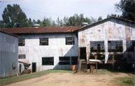 Sawmill in Longleaf, Louisiana