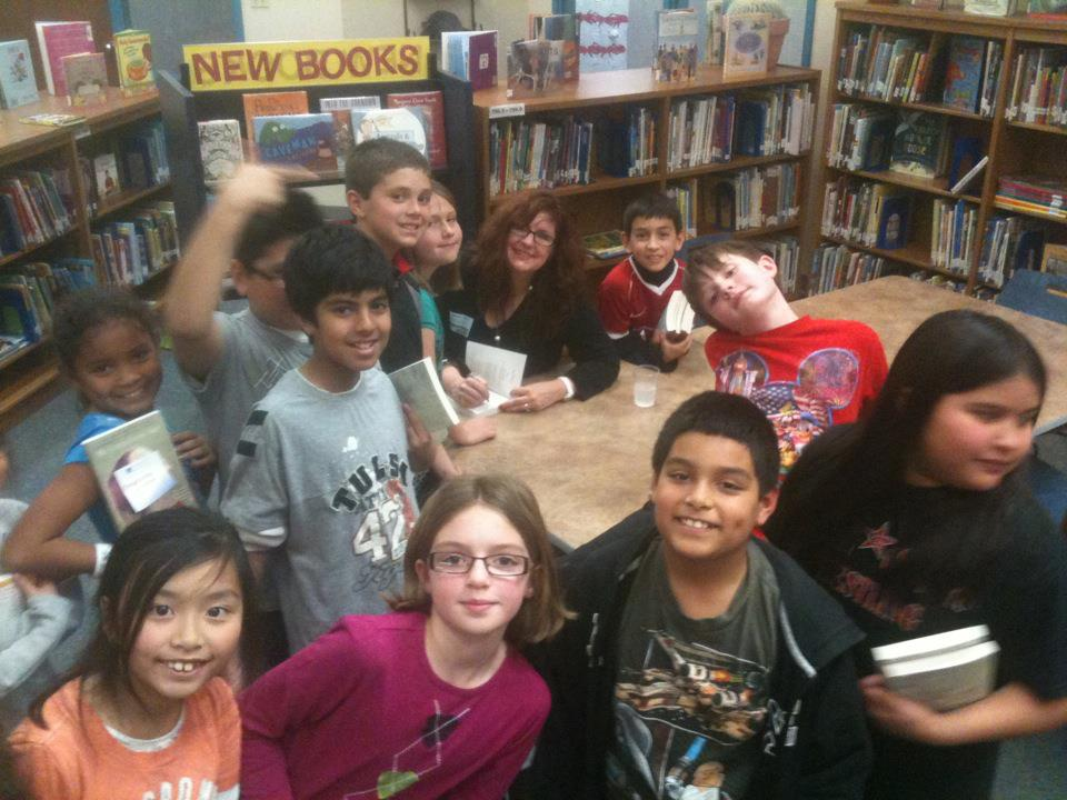Wilson Elementary School in Coppell ISD welcomes Kimberly to their library.