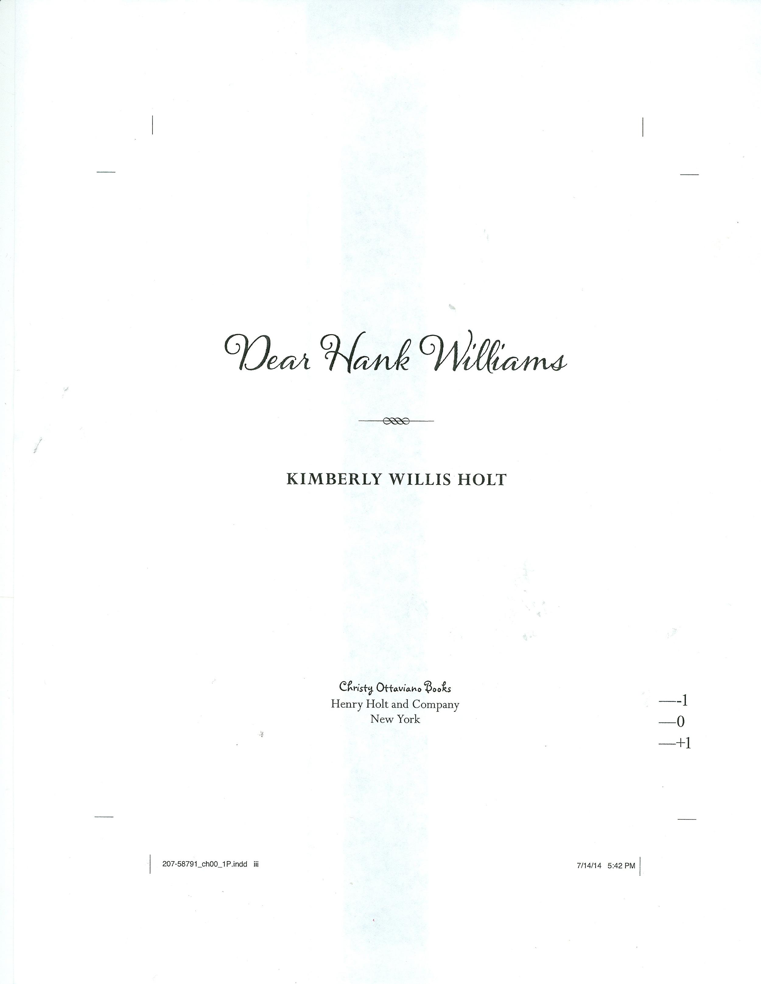 Dear Hank title page.jpg