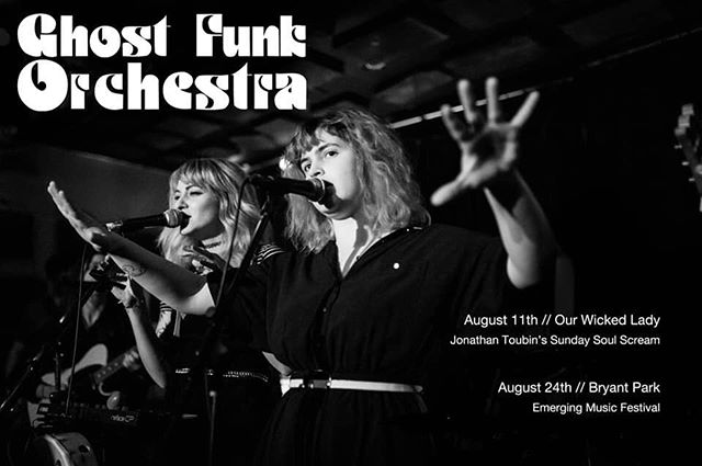 Don't. Sleep. On. This. You'll miss history. @ghostfunkorchestra