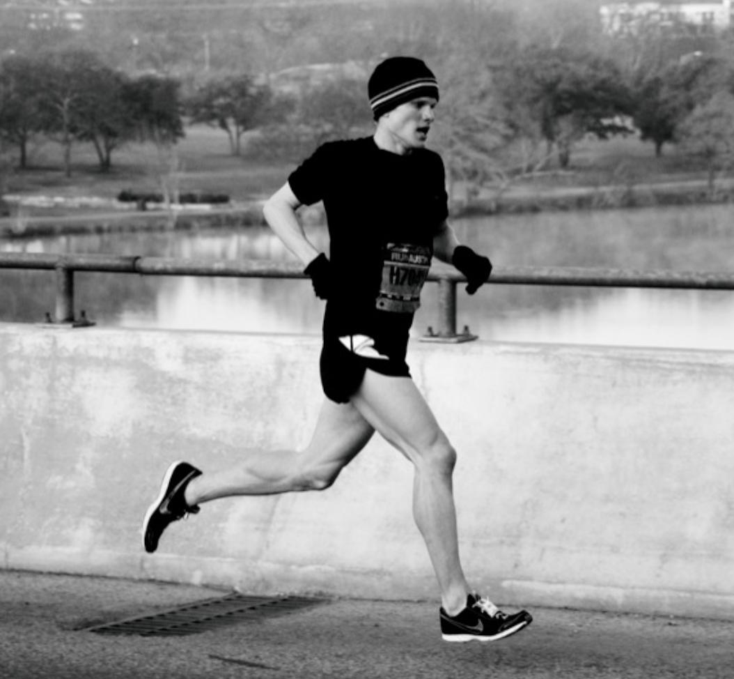Run through pain, not away from it