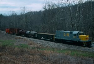 Here 1315 is posed at Kudzu Hill.