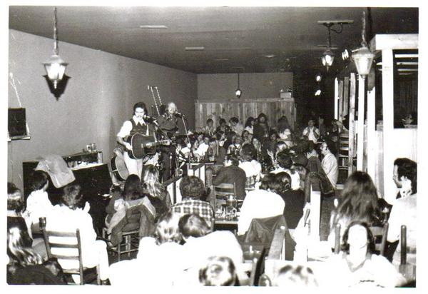 The Full Circle Band @ Mississippi Whiskers, 1974