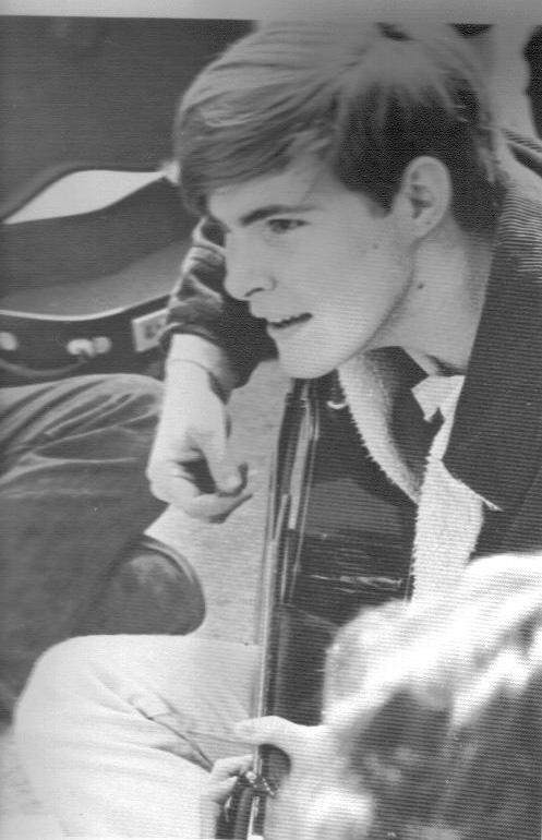 Rob, Senior year, Indian Springs, HS, 1969
